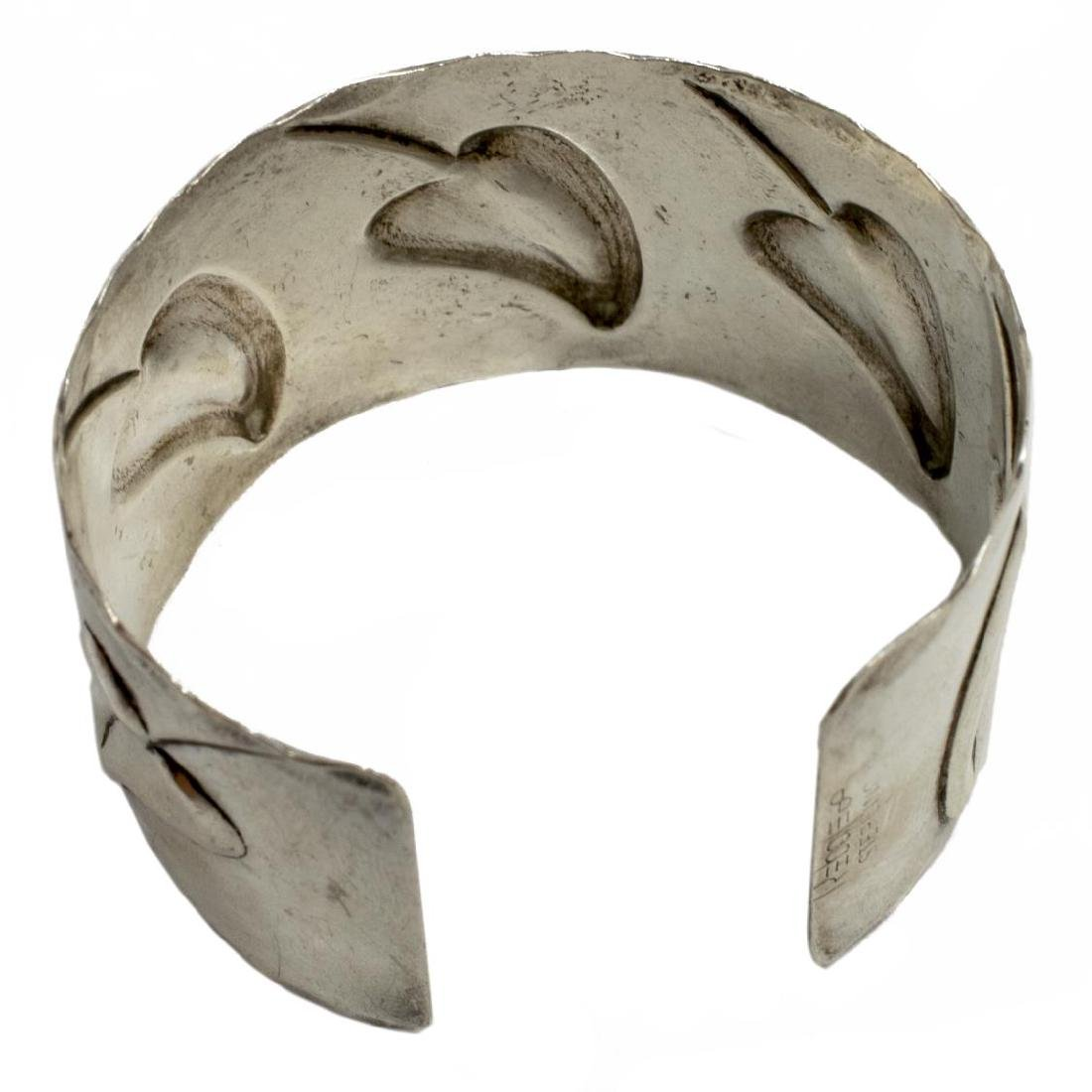 (2) FRANCISCO REBAJES (1905-1990) STERLING CUFF - 3
