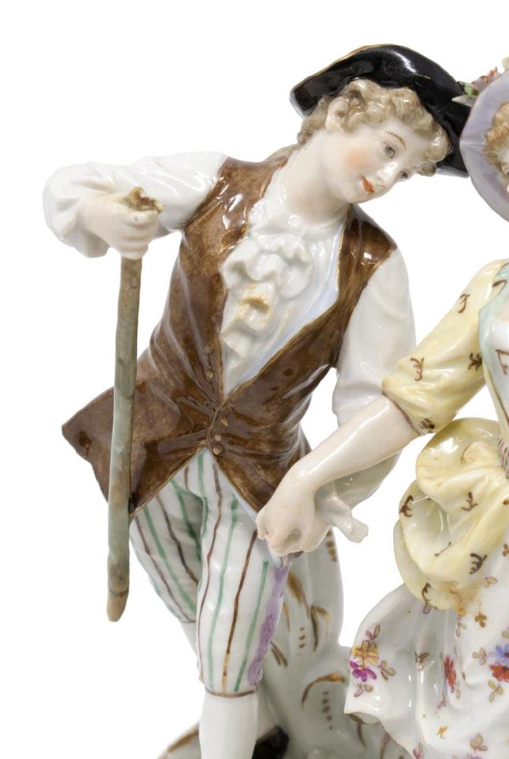 (2) PAIR OF HOCHST PORCELAIN FIGURES - 2