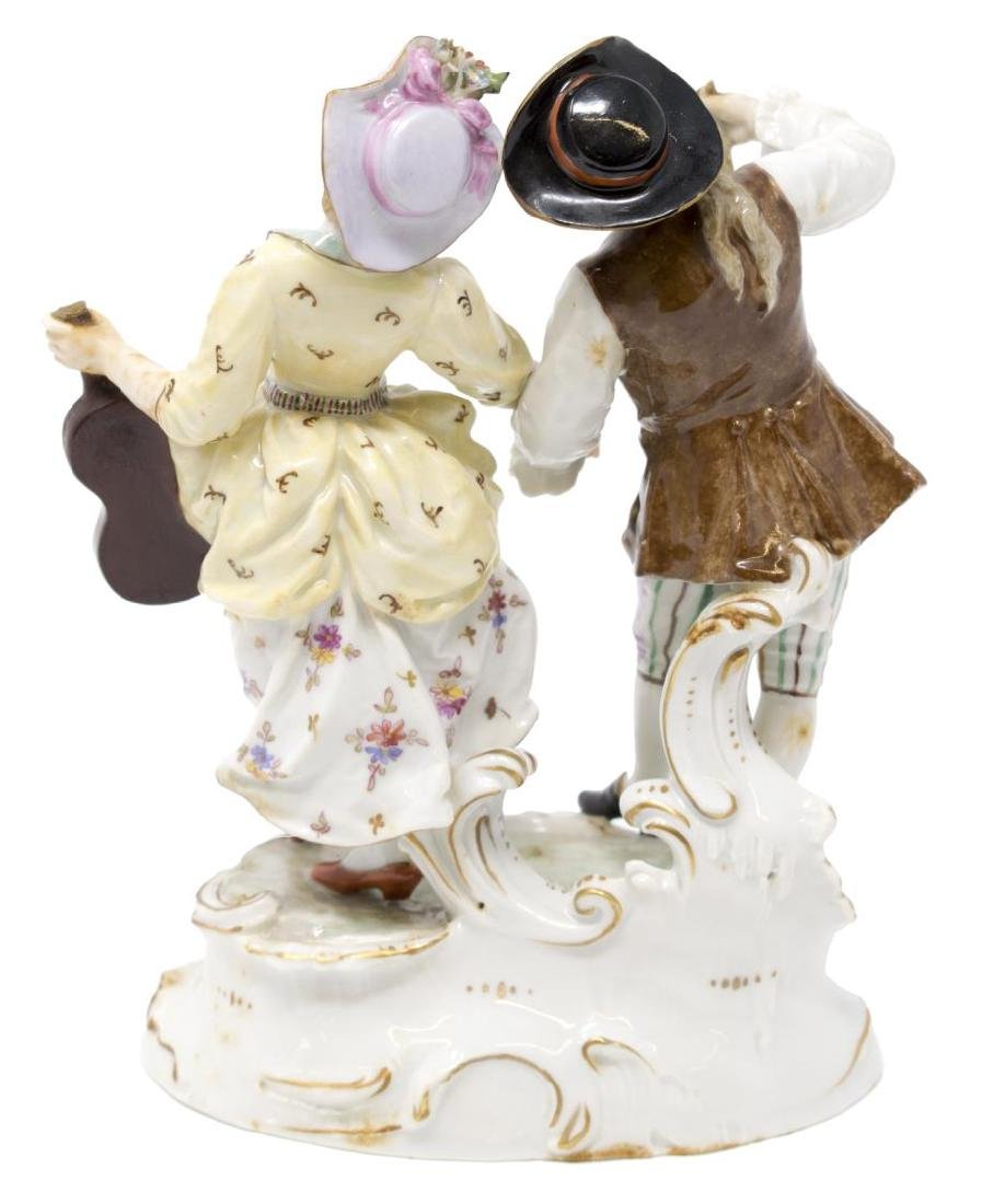 (2) PAIR OF HOCHST PORCELAIN FIGURES - 4