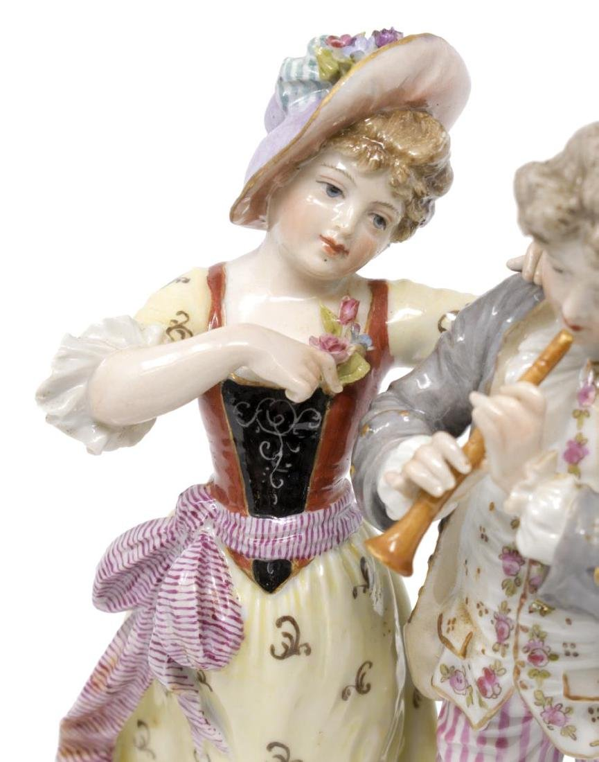 (2) PAIR OF HOCHST PORCELAIN FIGURES - 5