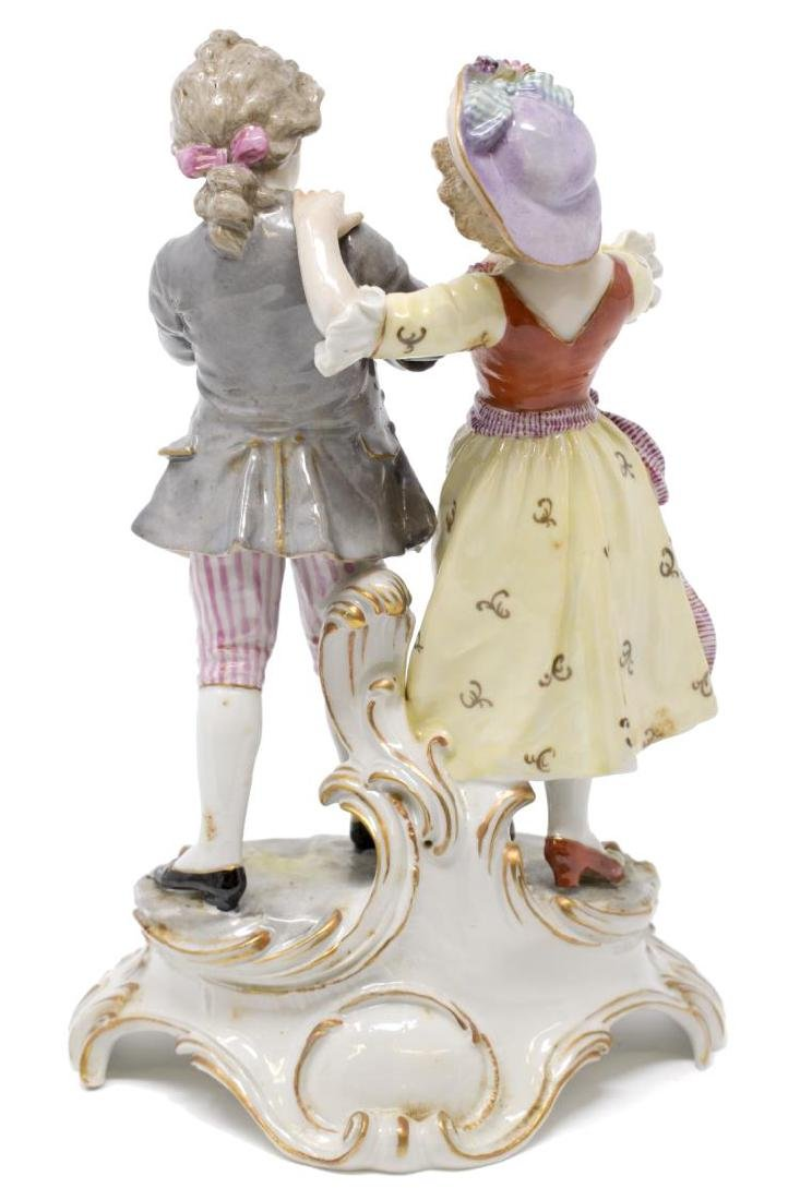 (2) PAIR OF HOCHST PORCELAIN FIGURES - 7
