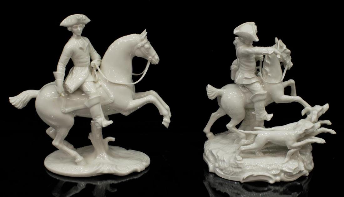(5) NYMPHENBURG GERMAN BLANC PORCELAIN FIGURES - 2