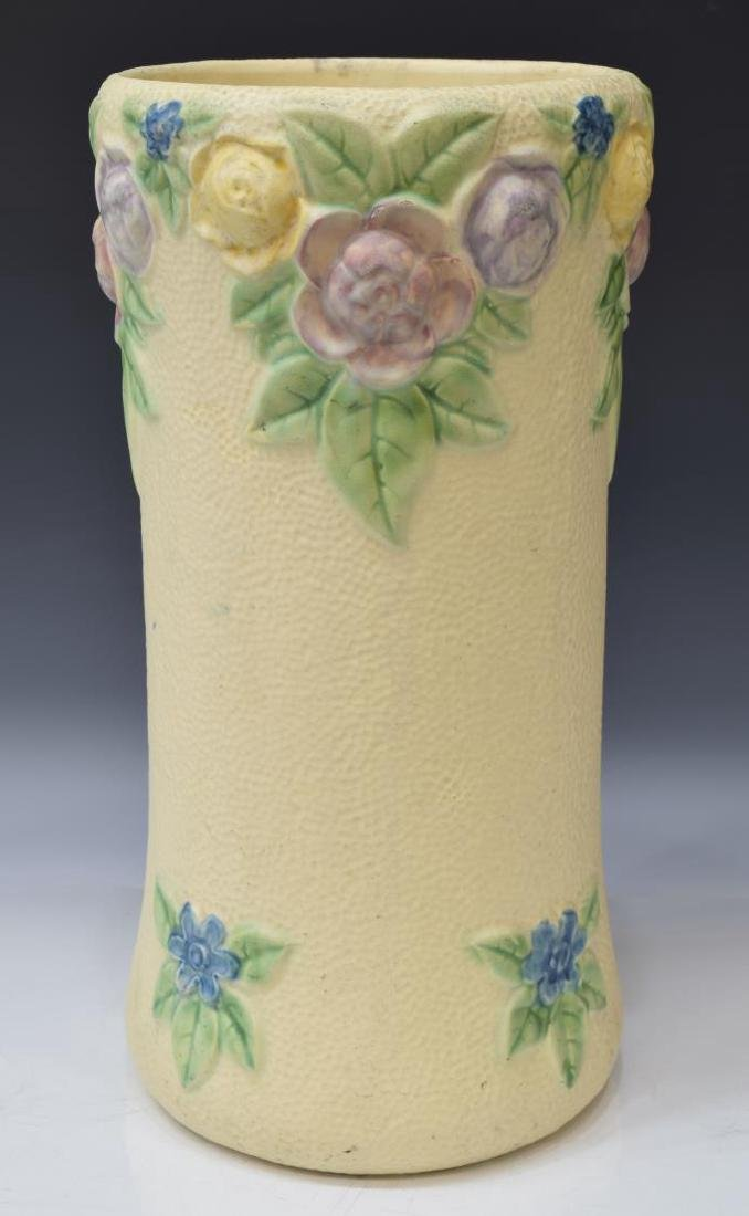 ROSEVILLE ROZANE 1917 ART POTTERY UMBRELLA STAND