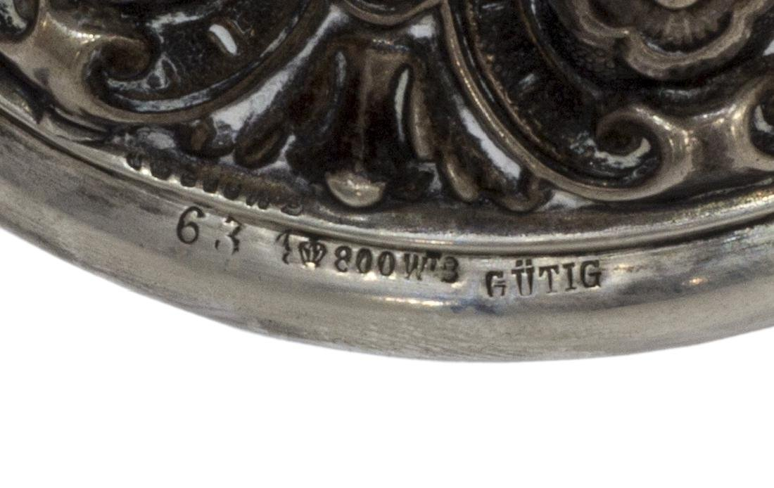 (4) GOBLETS INCLUD. GUTIG 800 SILVER & GILT BRONZE - 2