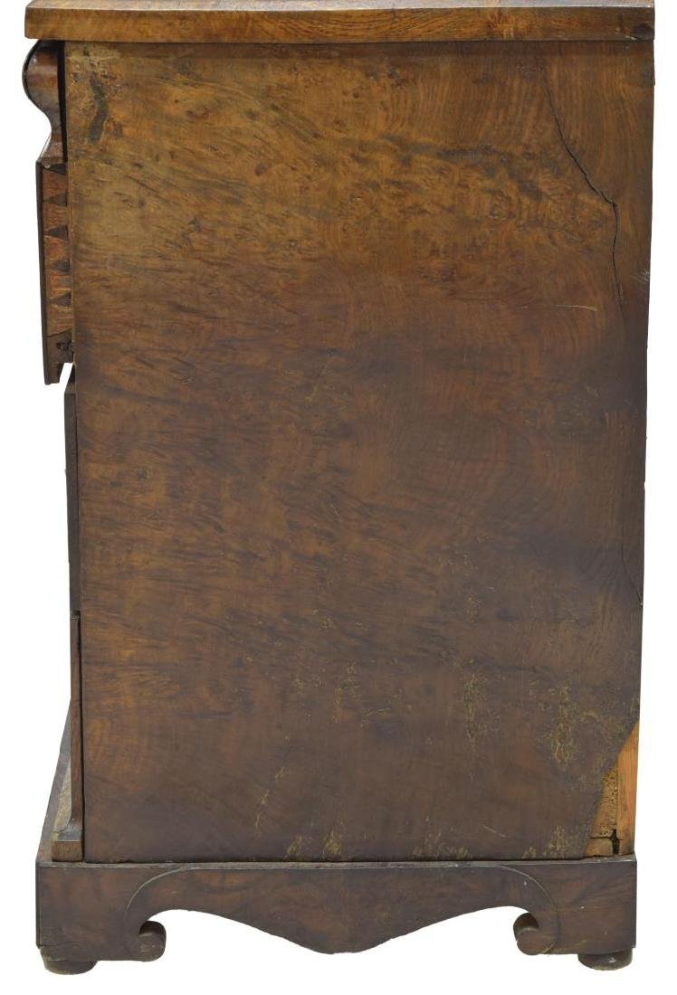 DANISH EMPIRE FITTED BURLED WORK CHEST OF DRAWERS - 6