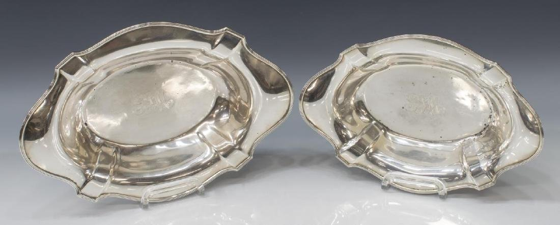 (2) GORHAM STERLING SILVER GRADUATED CENTER BOWLS