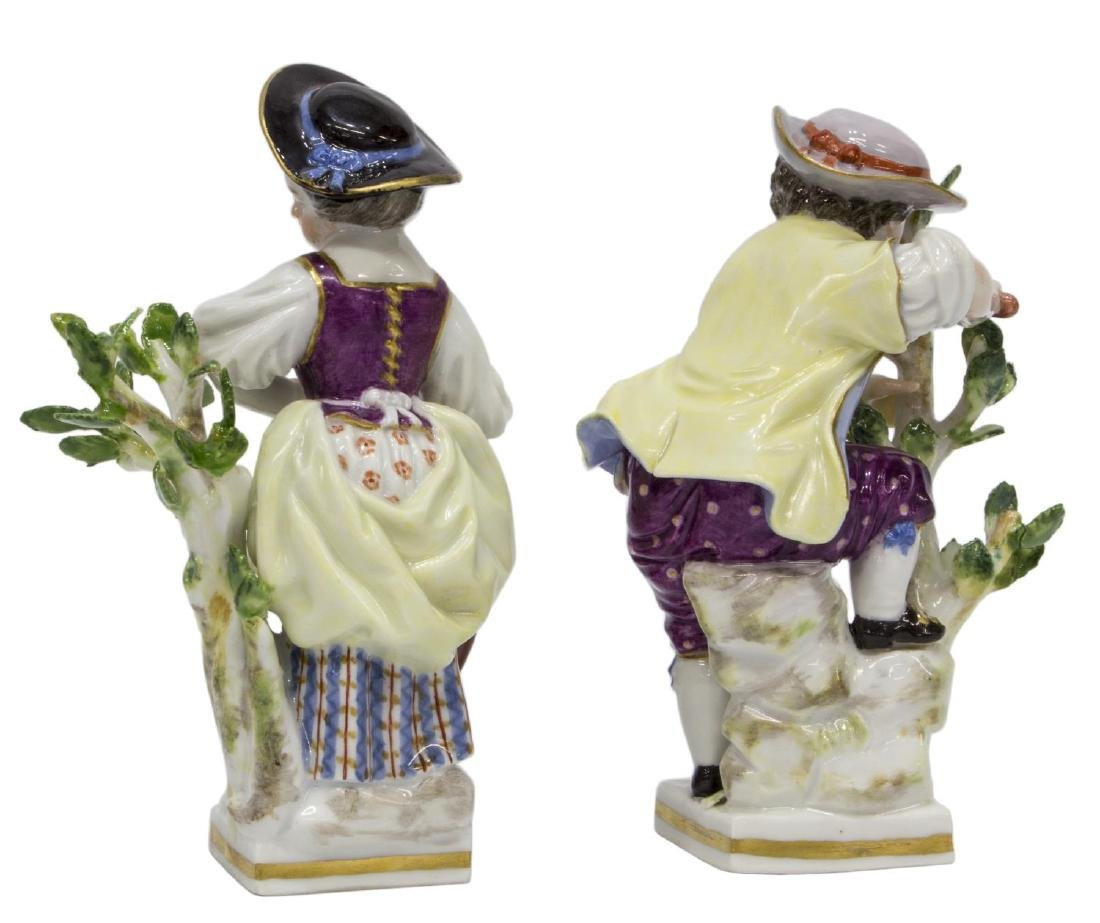 (2) MEISSEN PORCELAIN FIGURES, GARDEN CHILDREN G - 2