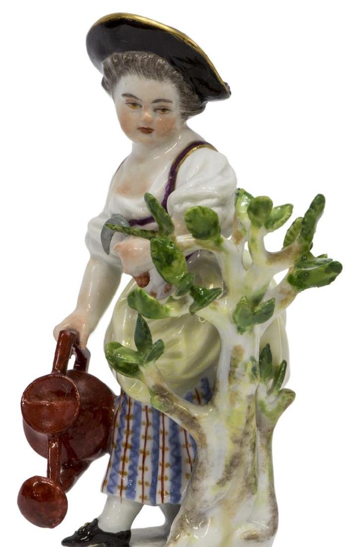 (2) MEISSEN PORCELAIN FIGURES, GARDEN CHILDREN G - 3
