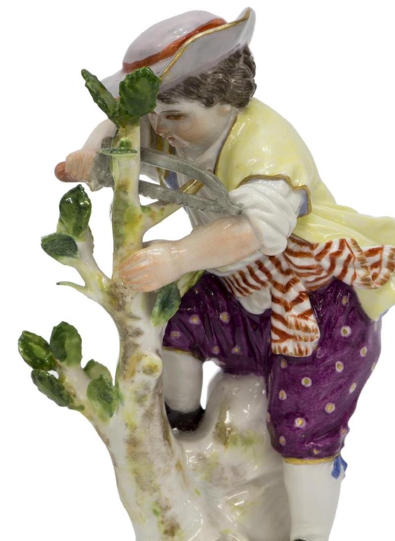 (2) MEISSEN PORCELAIN FIGURES, GARDEN CHILDREN G - 4
