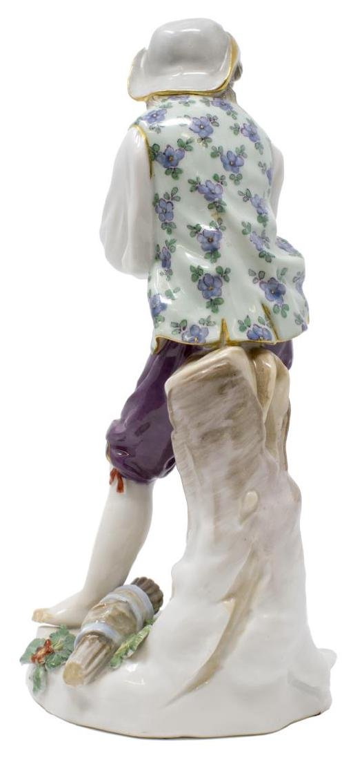 MEISSEN PORCELAIN FIGURE, BOY W/ ARMS CROSSED, D79 - 3