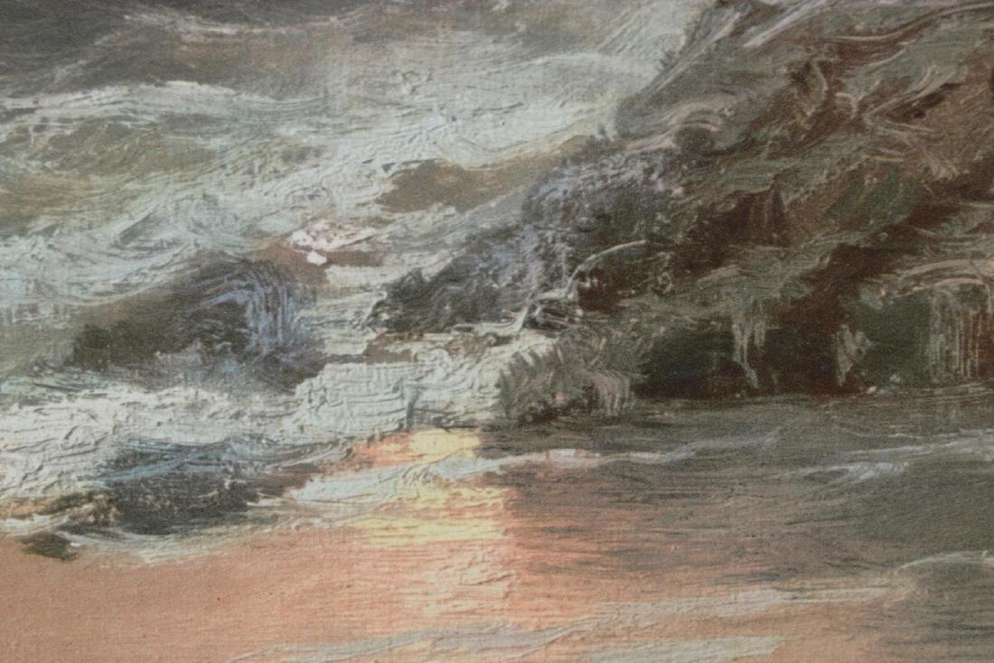 CARLO GROSSI (1857-1931), OCEAN AT SUNSET - 3