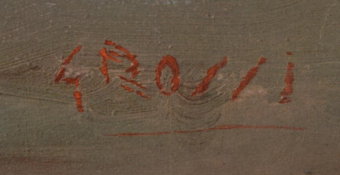 CARLO GROSSI (1857-1931), OCEAN AT SUNSET - 4