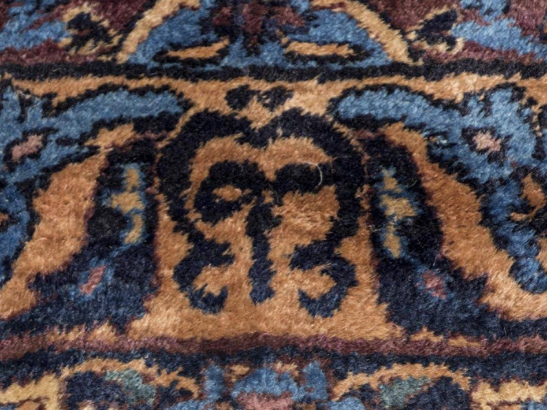 """MONUMENTAL SIGNED PERSIAN YZAD RUG, 13'7"""" x 23'2 - 6"""