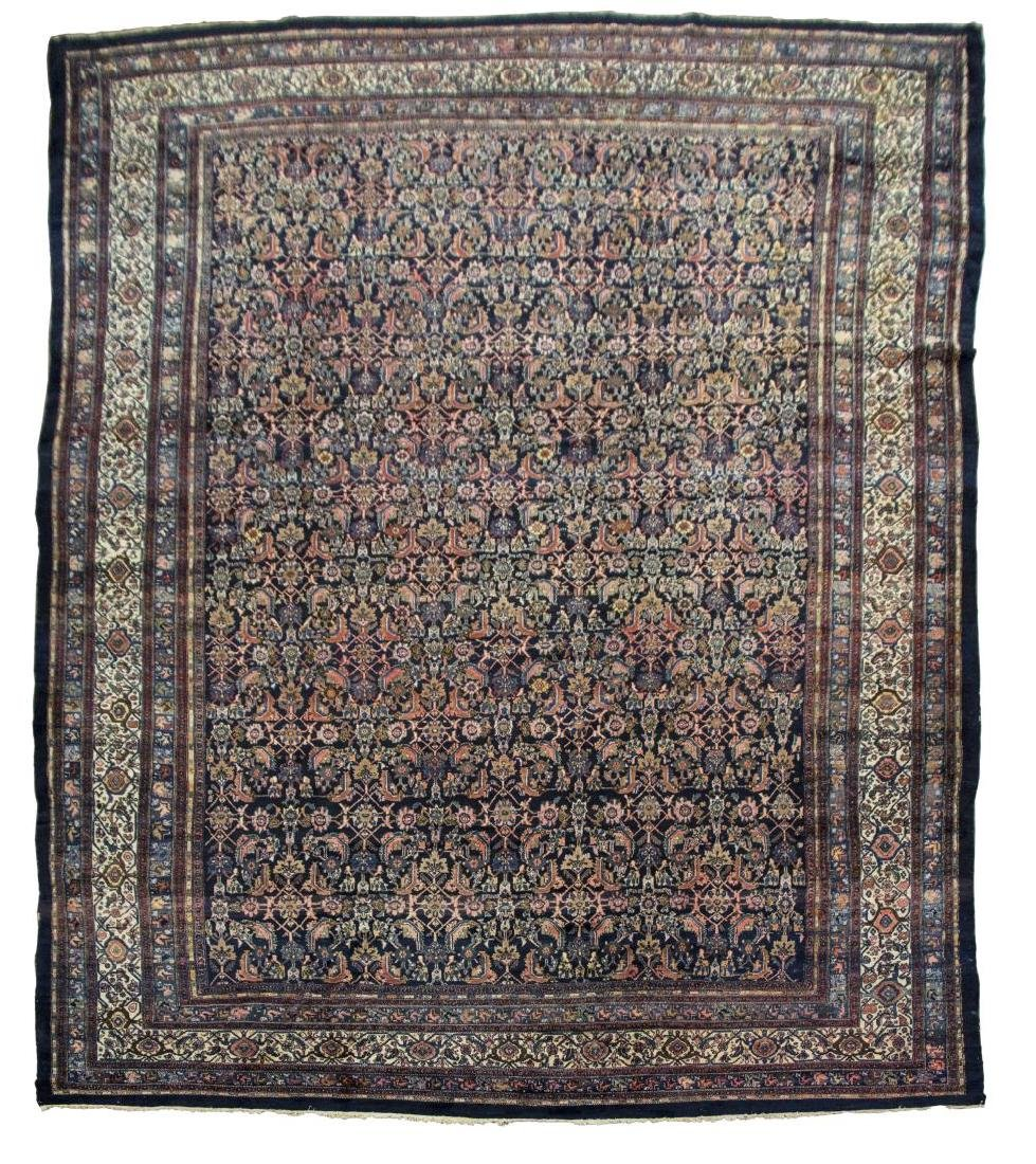 "MONUMENTAL HAND-WOVEN PERSIAN RUG, 13'9"" x 19'9"""