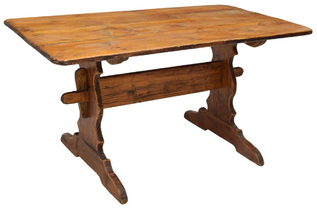 SCANDINAVIAN PINE FARM TABLE