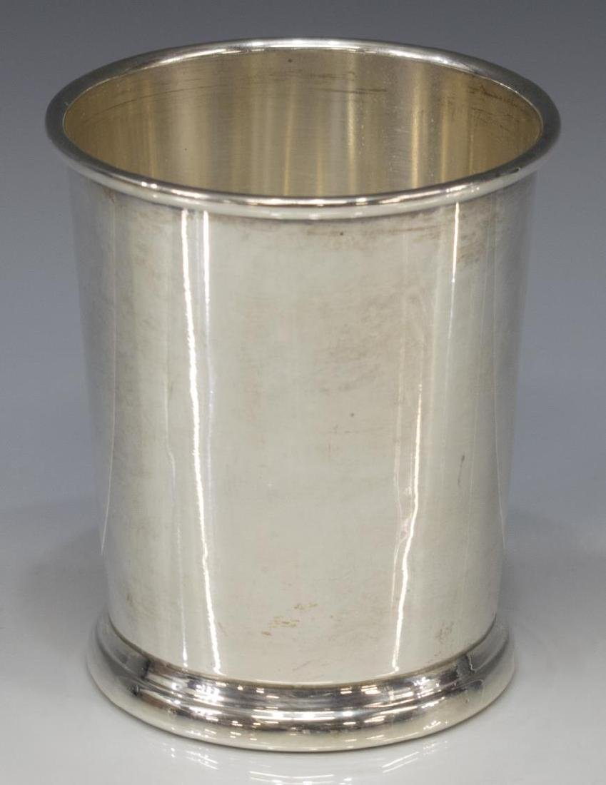 (2) WEB STERLING SILVER MINT JULEP CUPS - 2