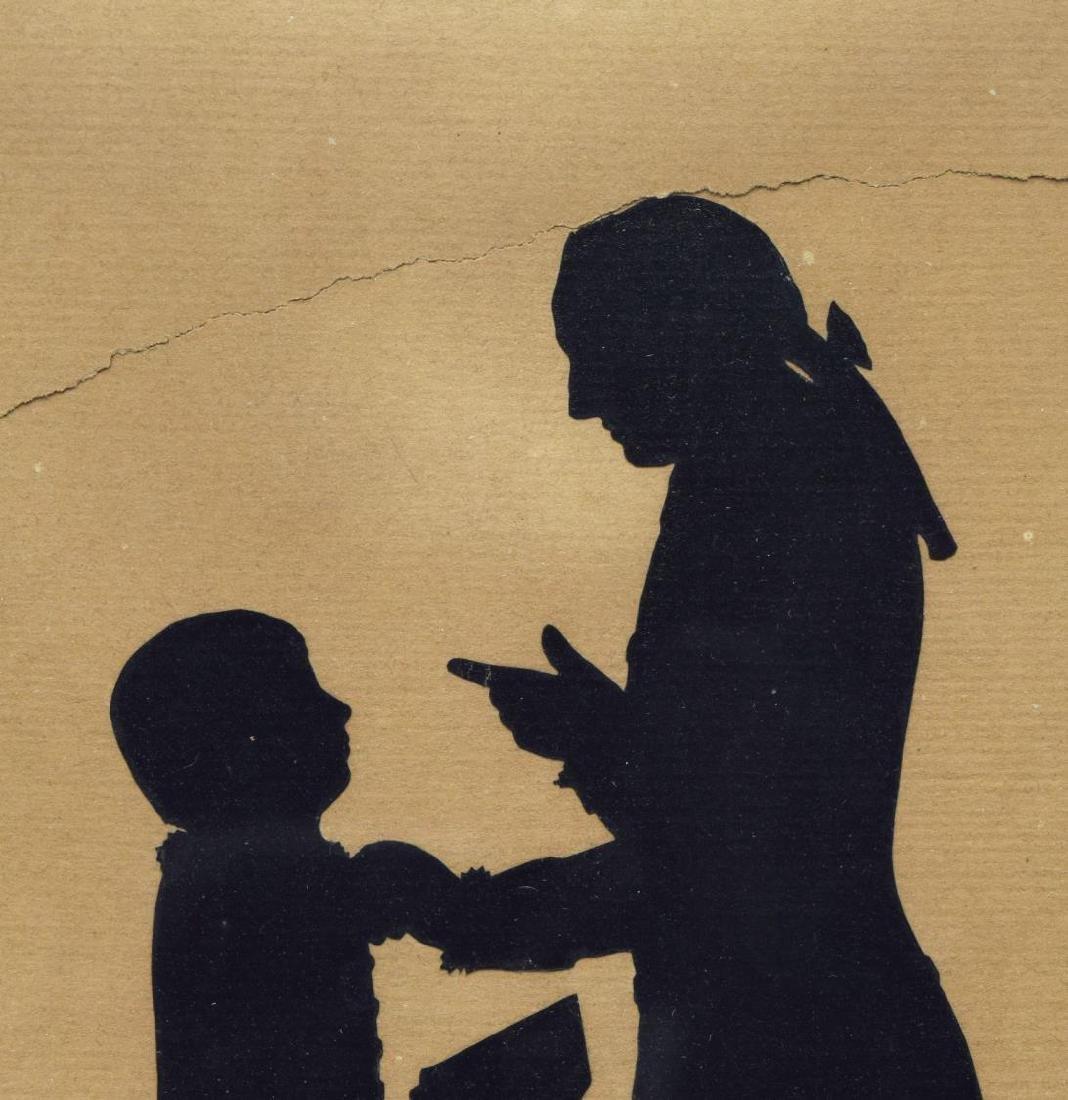 (3) FRAMED SILHOUETTES OF GOETHE & FREDERICK GREAT - 5
