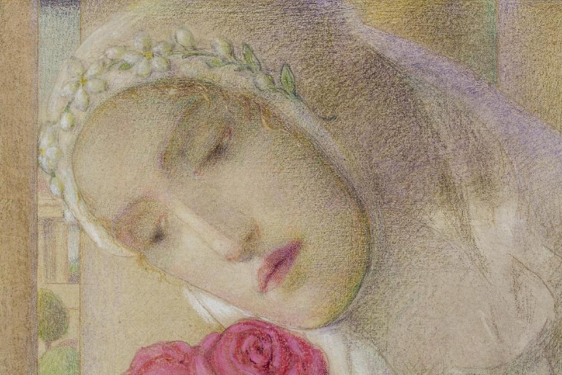 "CARLO DONATI (1874-1949), ""THREE SCARLETT ROSES"" - 4"