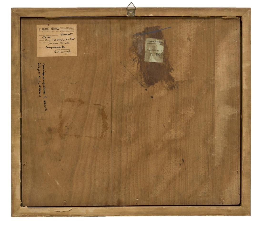 "CARLO DONATI (1874-1949), ""THREE SCARLETT ROSES"" - 6"