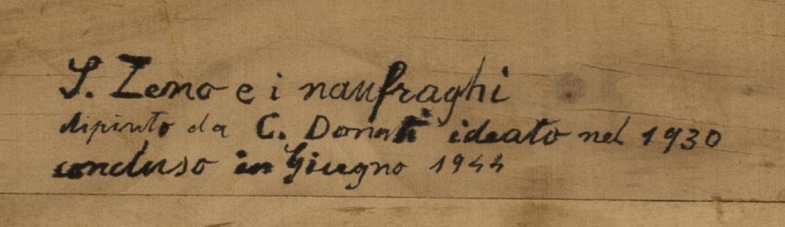 """CARLO DONATI (D.1949) """"SHIPWRECK OF ZENO BROTHERS"""" - 4"""