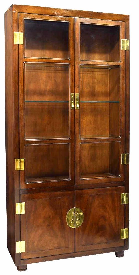 ASIAN STYLE DISPLAY CABINET WITH BAR