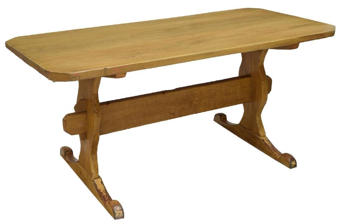 SWEDISH PINE FARMHOUSE TABLE
