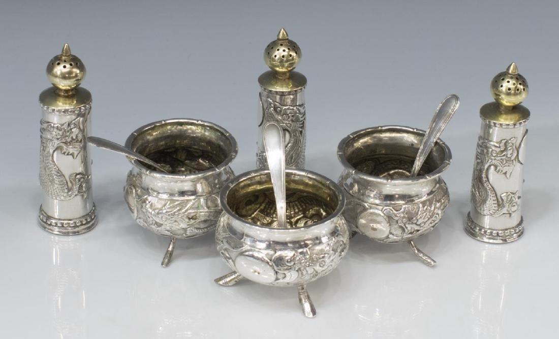 (9) KWAN WO CHINESE EXPORT DRAGON SILVER GROUP