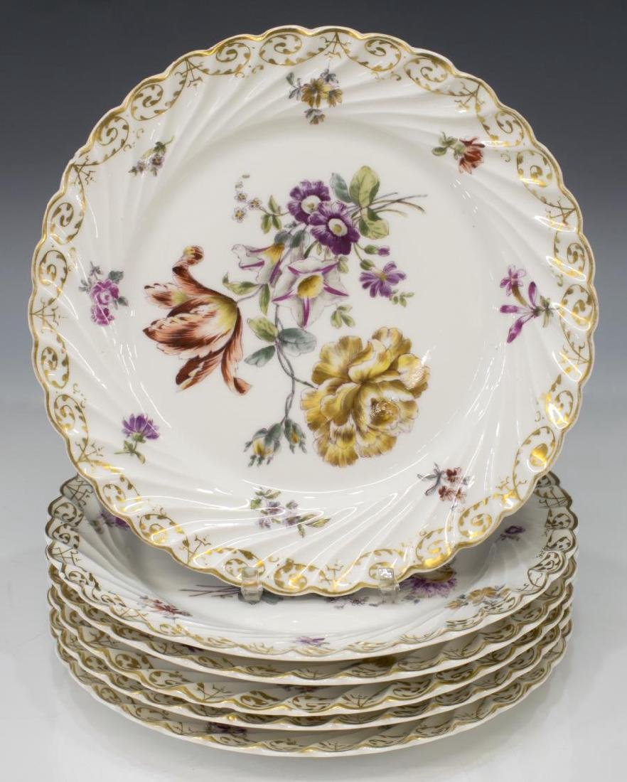 (9) PORCELAIN TABLEWARE, MEISSEN & NYMPHENBURG - 2