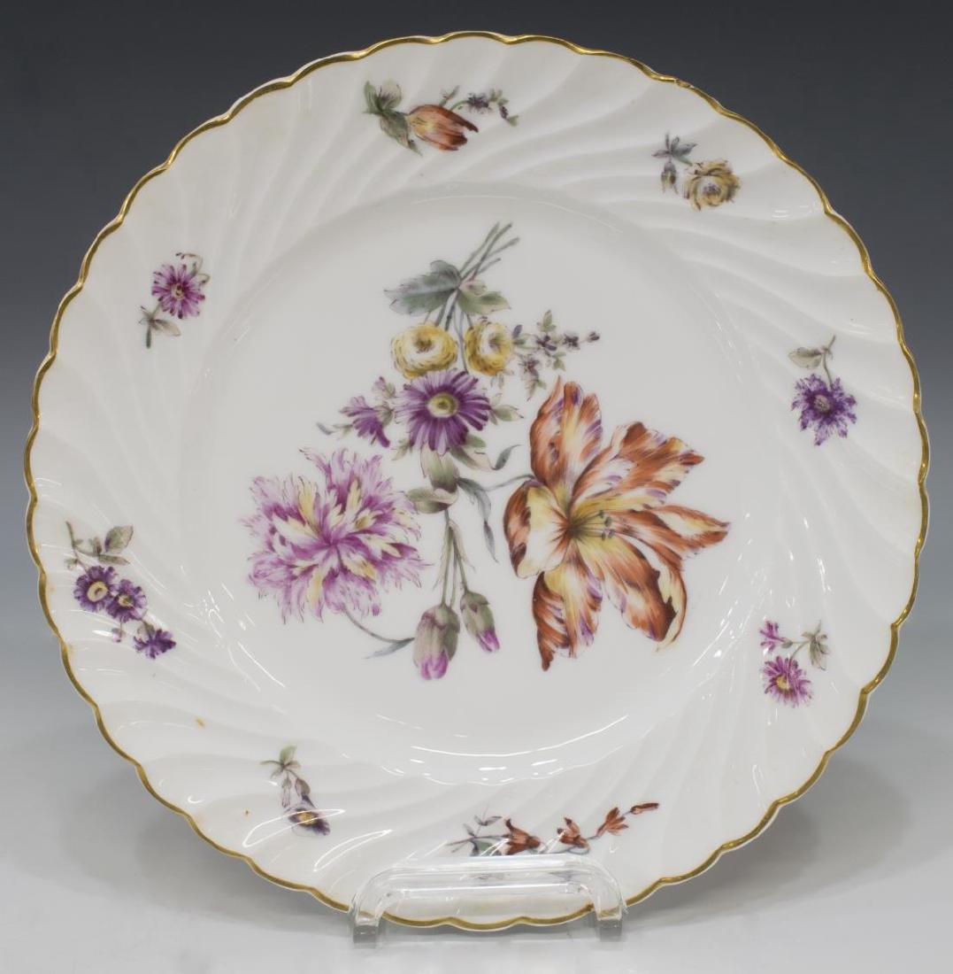 (9) PORCELAIN TABLEWARE, MEISSEN & NYMPHENBURG - 3