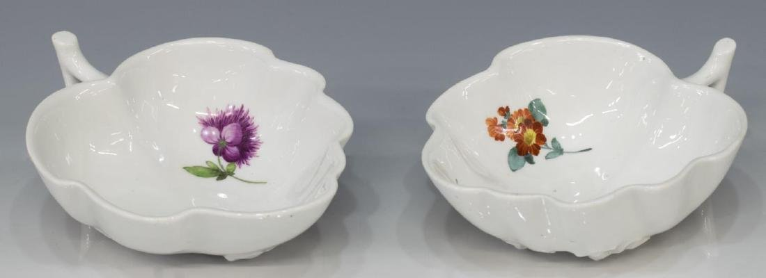 (9) PORCELAIN TABLEWARE, MEISSEN & NYMPHENBURG - 5