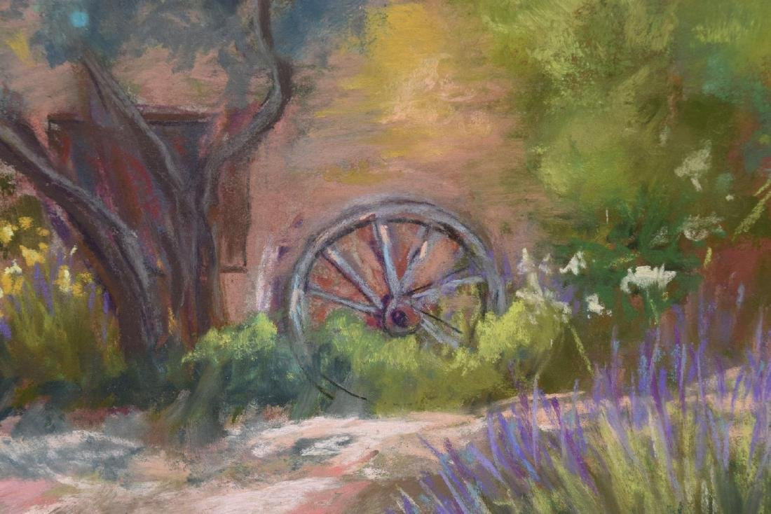 Y. GURRIES (20TH) CALIFORNIA ARTIST, FRAMED PASTEL - 3