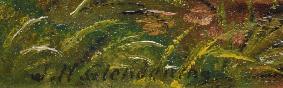 (2) J.H. GLENDENING FRAMED OIL PAINTINGS ON BOARD - 4