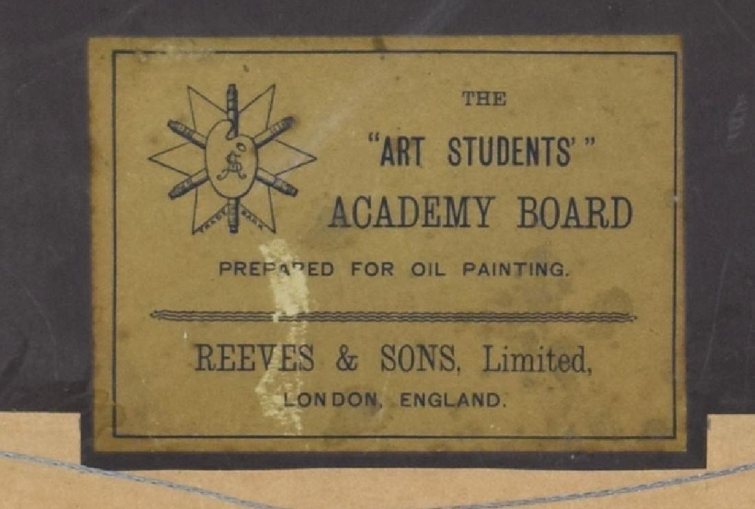 (2) J.H. GLENDENING FRAMED OIL PAINTINGS ON BOARD - 9