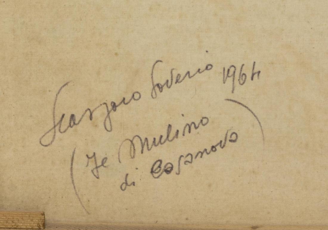 SAVERIO SEASSARO (1917-2016), FRAMED OIL PAINTING - 6