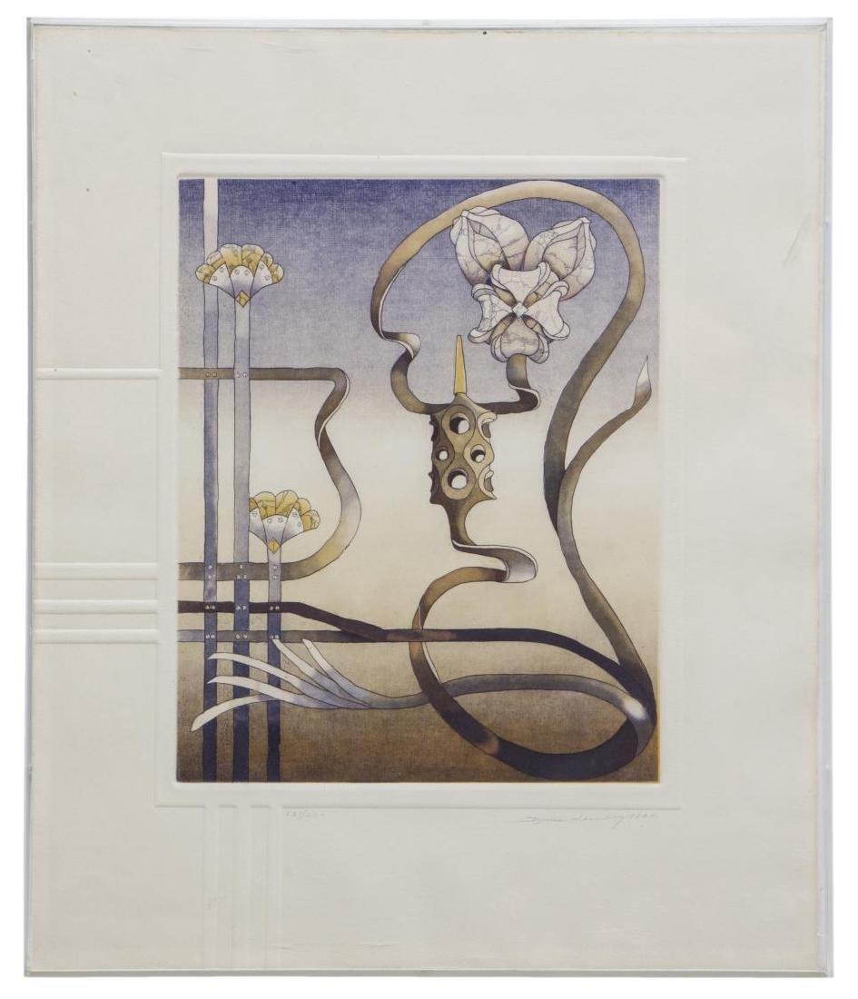 BRUCE WEINBERG (1942-1994), FRAMED TRIPTYCH - 4