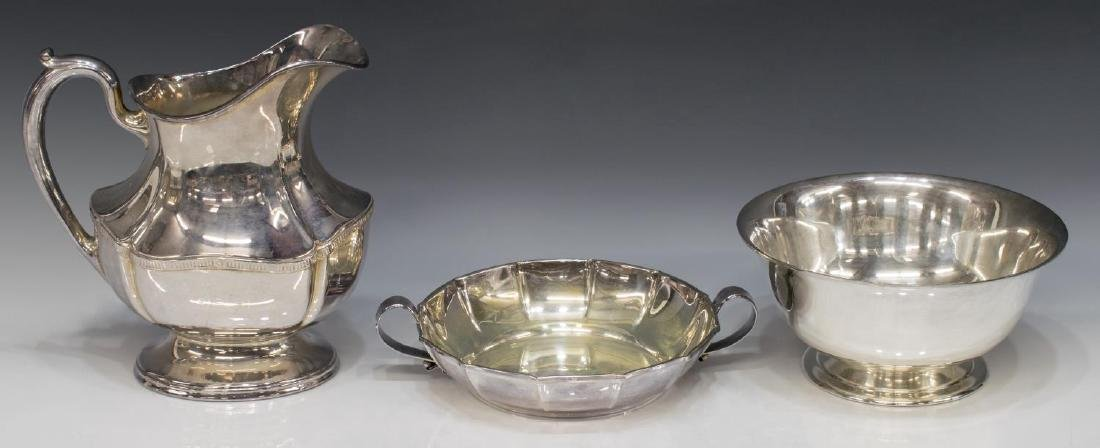 (15) GROUP OF TABLE SERVICEWARE, SILVER-PLATE ETC. - 2