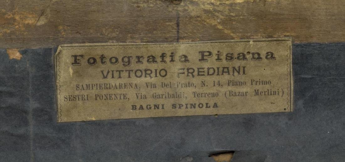 ITALIAN PHOTOGRAPHIC PRINT IN CARVED & GILT FRAME - 4