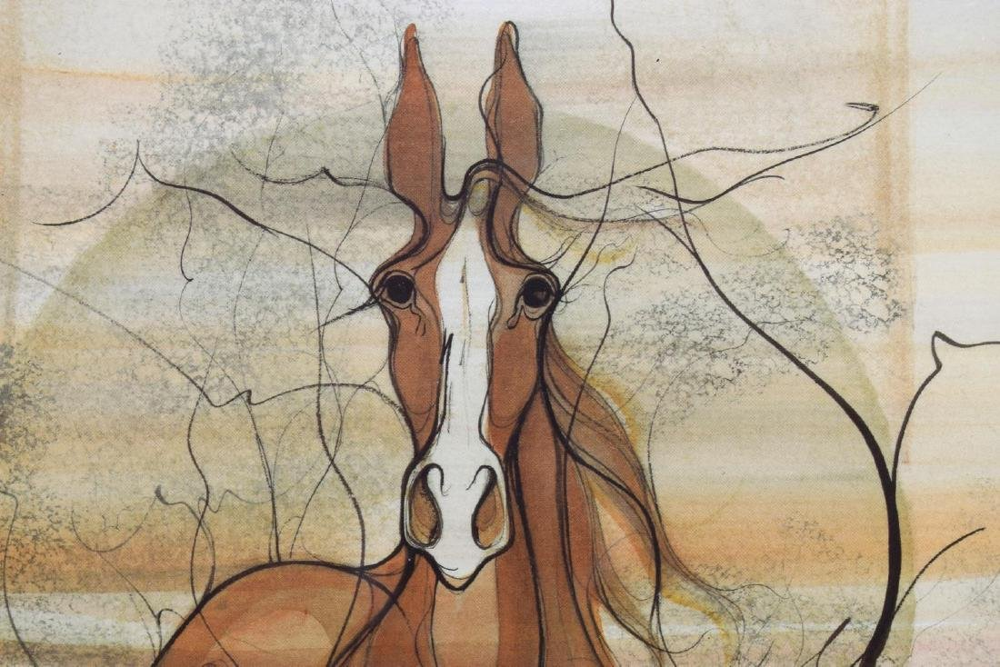 PATRICIA MOSS (B. 1933) HORSE LIMITED PRINT - 3