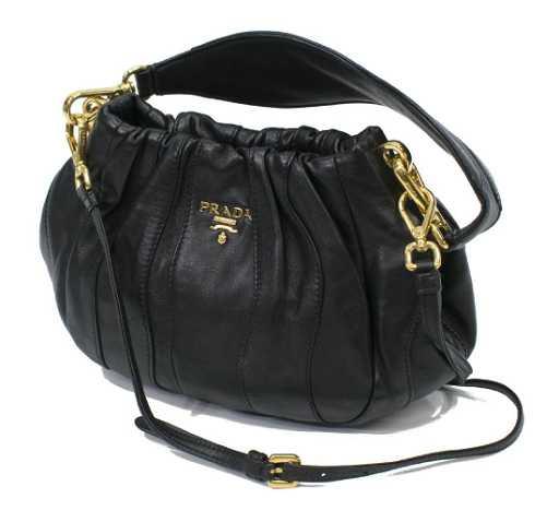 af4afa2000546c PRADA MILANO NAPPA STRIPES LEATHER CROSSBODY BAG. See Sold Price