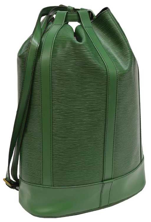 ae689ea9b05d LOUIS VUITTON  RANDONNEE GM  GREEN EPI BACKPACK