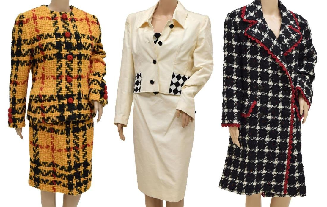 (6) LOT OF DESIGNER CLOTHING BILL BLASS VALENTINO
