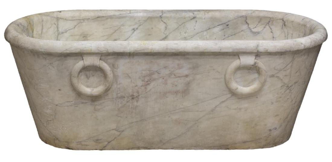 ROMAN STYLE ANTIQUE MARBLE BATH