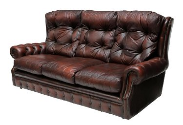 Stupendous Chesterfield Oxblood Red Leather Tufted Sofa Cjindustries Chair Design For Home Cjindustriesco