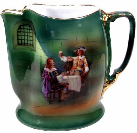 710: ROYAL BAYREUTH MUSKETEER PITCHER