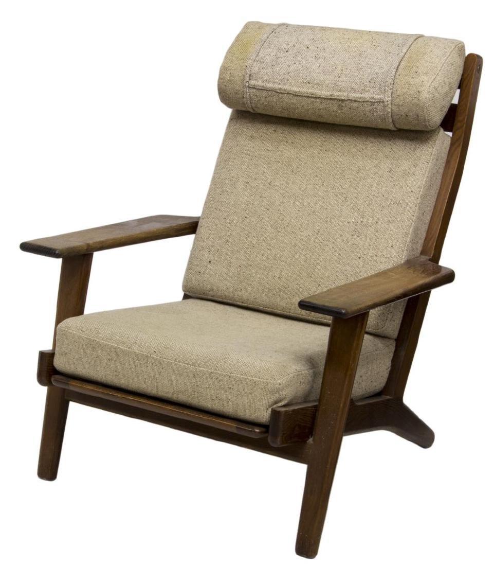 hans wegner getama gedsted ge 290 easy chair