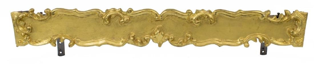 CONTINENTAL GILTWOOD CURTAIN VALENCE OR PELMET
