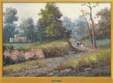 FRAMED SIGNED OIL PAINTING ON CANVAS, A. SAVARESE