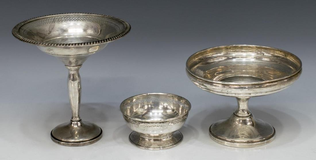 (6) SCRAP & WEIGHTED STERLING SILVER TABLE ITEMS - 2
