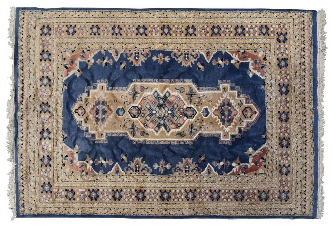"HAND-WOVEN PERSIAN RUG, 4'1"" X 6'0"""