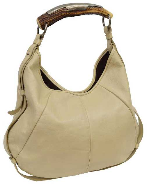 f4a887d750a2 YVES SAINT LAURENT  MOMBASA  LEATHER HANDBAG. See Sold Price